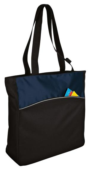 Port & Company  TwoTone Colorblock Tote. B1510