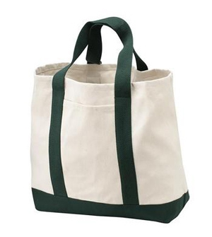 Port & Company  2Tone Shopping Tote.  B400