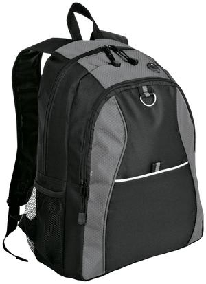Port & Company Contrast Honeycomb Backpack. BG1020