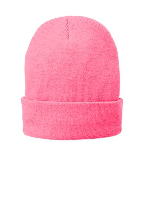 Port & Company FleeceLined Knit Cap. CP90L