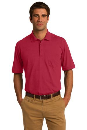 Port & Company 5.5Ounce Jersey Knit Pocket Polo. KP55P