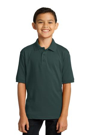 Port & Company Youth 5.5Ounce Jersey Knit Polo. KP55Y