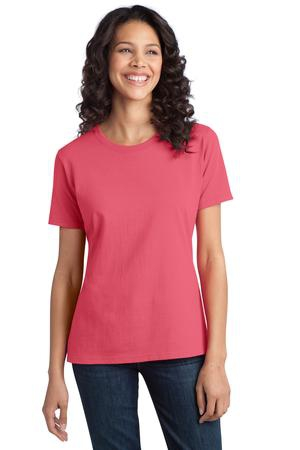 Port & Company  Ladies Ring Spun Cotton Tee. LPC150
