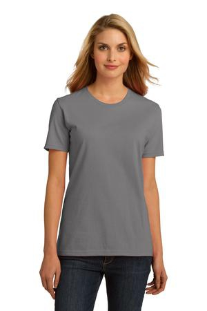 Port & Company Ladies Essential 100% Organic Ring Spun Cotton TShirt. LPC150ORG