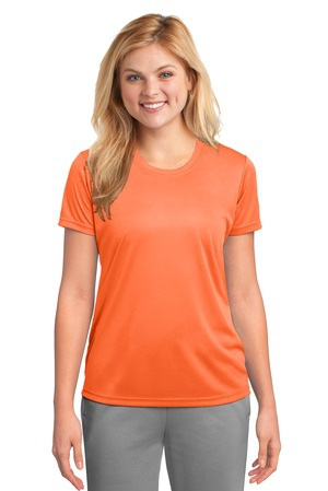 Port & Company Ladies Essential Performance Tee. LPC380
