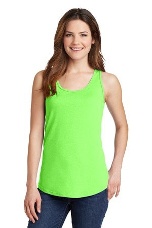 Port & Company Ladies 5.4oz 100% Cotton Tank Top.  LPC54TT