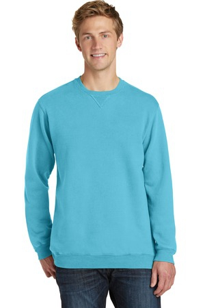 Port & Company PigmentDyed Crewneck Sweatshirt. PC098