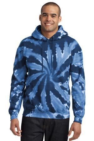 Port & Company TieDye Pullover Hooded Sweatshirt. PC146