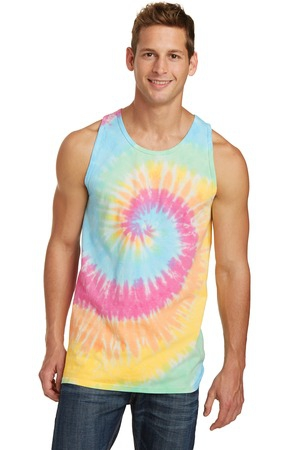 Port & Company TieDye Tank Top.  PC147TT
