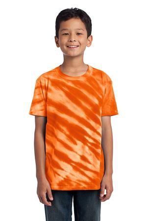 Port & Company  Youth Tiger Stripe TieDye Tee. PC148Y