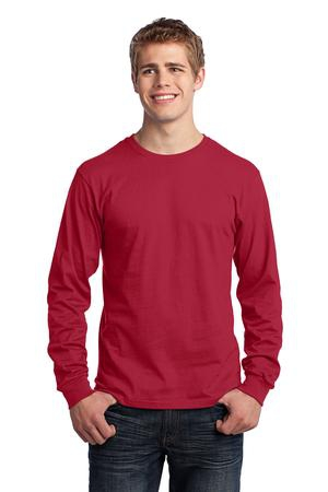 Port & Company  Long Sleeve Core Cotton Tee. PC54LS