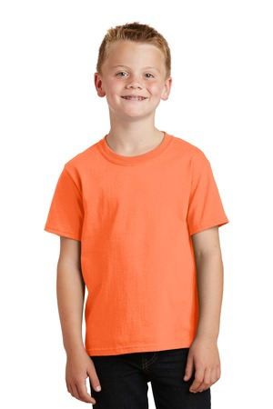 Port & Company  Youth Core Cotton Tee. PC54Y