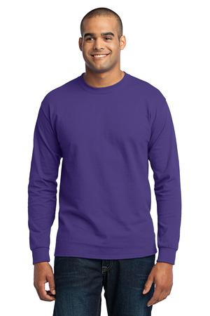 Port & Company  Long Sleeve Core Blend Tee. PC55LS