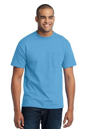 Port & Company Tall Core Blend Pocket Tee. PC55PT