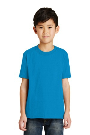 Port & Company  Youth Core Blend Tee.  PC55Y