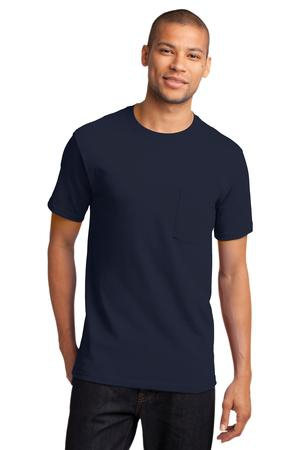 Port & Company  Essential Pocket Tee. PC61P