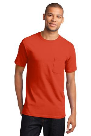 Port & Company  Tall Essential Pocket Tee. PC61PT