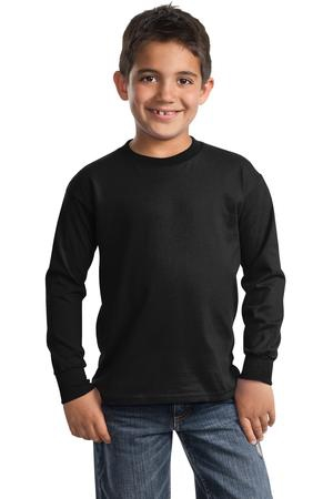 Port & Company  Youth Long Sleeve Essential TShirt. PC61YLS