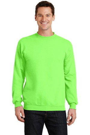 Port & Company  Core Fleece Crewneck Sweatshirt. PC78