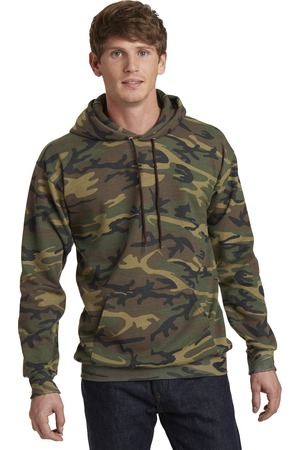 Port & Company Classic Camo Pullover Hooded Sweatshirt. PC78HC