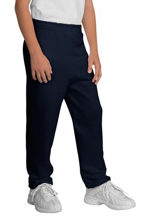 Port & Company  Youth Core Fleece Sweatpant.  PC90YP