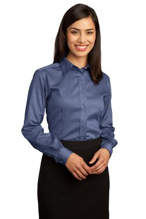 Red House  Ladies NonIron Pinpoint Oxford Shirt.  RH25