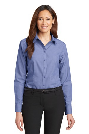 Red House  Ladies MiniCheck NonIron ButtonDown Shirt. RH67