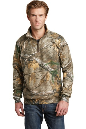 Russell Outdoors Realtree 1/4Zip Sweatshirt. RO78Q