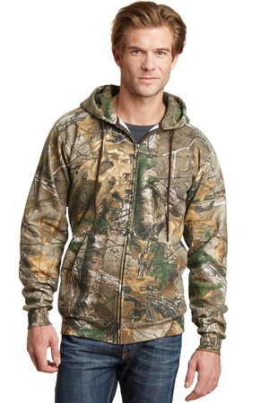 Russell Outdoors Realtree FullZip Hooded Sweatshirt. RO78ZH