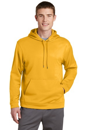 SportTek SportWick Fleece Hooded Pullover.  F244