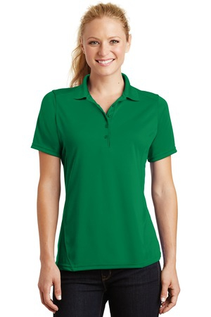 SportTek Ladies Dry Zone Raglan Accent Polo. L475