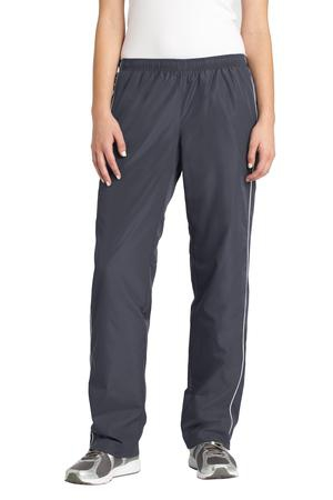 SportTek Ladies Piped Wind Pant. LPST61