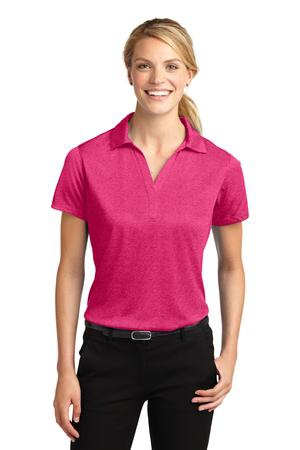 SportTek Ladies Heather Contender Polo. LST660