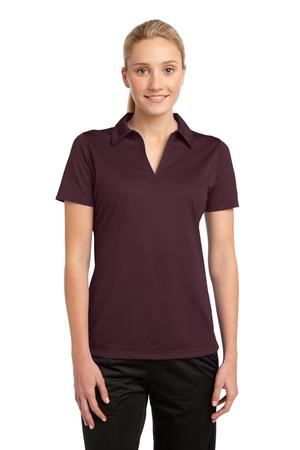 SportTek Ladies PosiCharge Active Textured Polo. LST690
