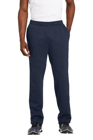 SportTek Open Bottom Sweatpant. ST257