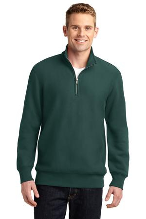 SportTek Super Heavyweight 1/4Zip Pullover Sweatshirt. ST283