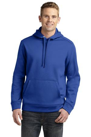 SportTek Repel Fleece Hooded Pullover. ST290