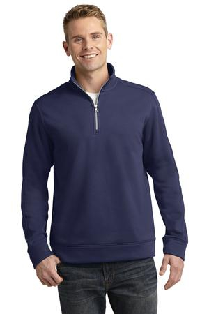 SportTek Repel Fleece 1/4Zip Pullover. ST291