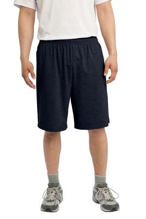 SportTek Jersey Knit Short with Pockets. ST310