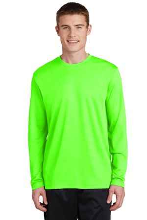 SportTek PosiCharge RacerMesh Long Sleeve Tee. ST340LS