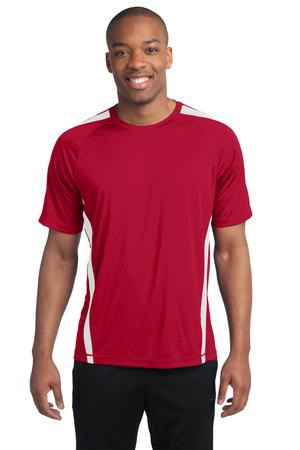 SportTek Colorblock PosiCharge Competitor Tee. ST351