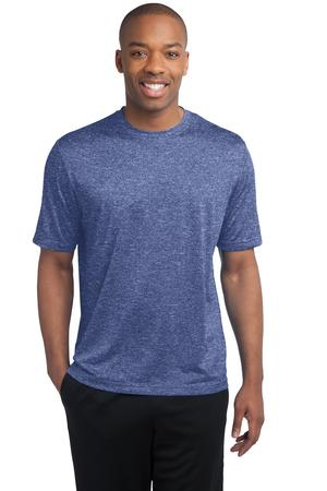 SportTek Heather Contender Tee. ST360