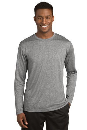 SportTek Long Sleeve Heather Contender Tee. ST360LS