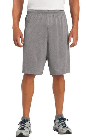 SportTek Heather Contender Short. ST365