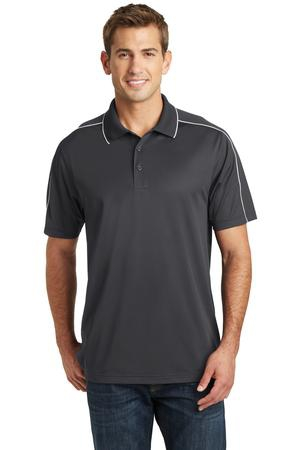 SportTek Micropique SportWick Piped Polo. ST653