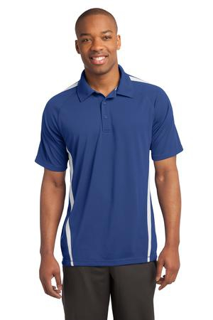 SportTek PosiCharge MicroMesh Colorblock Polo. ST685