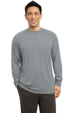 SportTek  Long Sleeve Ultimate Performance Crew. ST700LS