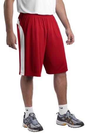 SportTek Dry Zone Colorblock Short. T479