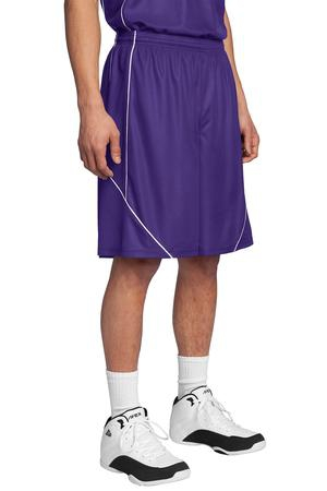 SportTek PosiCharge Mesh Reversible Spliced Short. T565