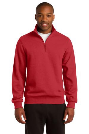 SportTek Tall 1/4Zip Sweatshirt. TST253